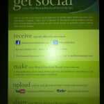 Active Social Outreach Online and Off