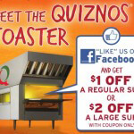 $2 Off A Large Sub For Facebook Fans