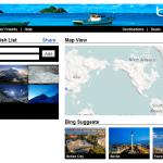 Bing Creates Travel Wish List Facebook Apps