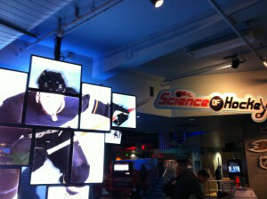 Hockey Exhibit at Discovery  Science Center