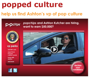 popchips ashton kutcher