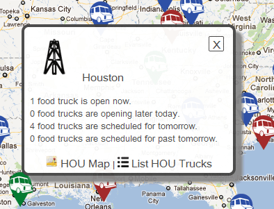 truxmap live food truck map