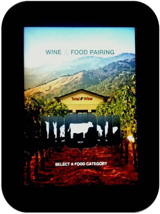 Total Wine and More Food Pairing App