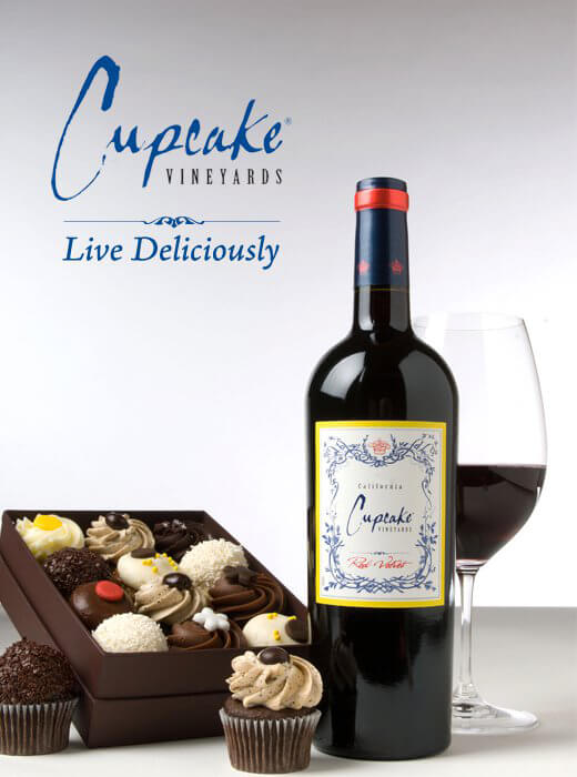 Cupcake Vineyards Live Deliciously