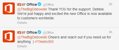 Office-tweet