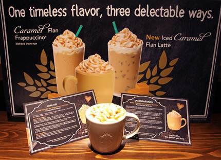 Caramel Flan Latte