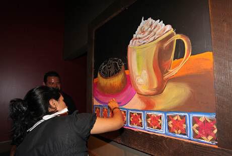 San Diego Starbucks Art