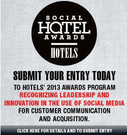 social media hotel awards