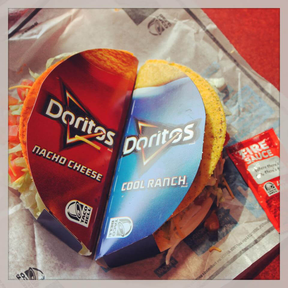 Taco Bell: Cool Ranch and Doritos Tacos