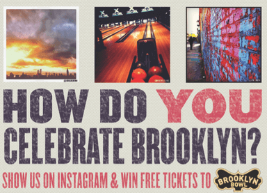 How Do You Celebrate Brooklyn Instagram Contest