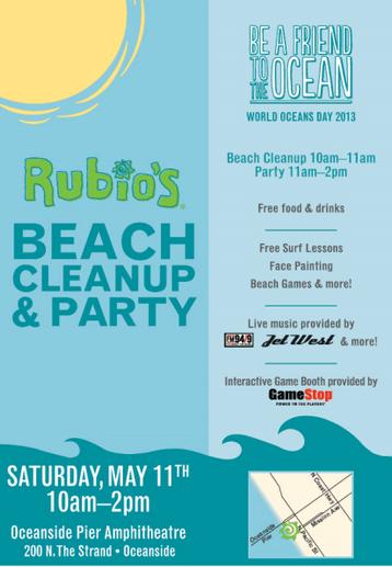 Rubio's World Ocean's Day