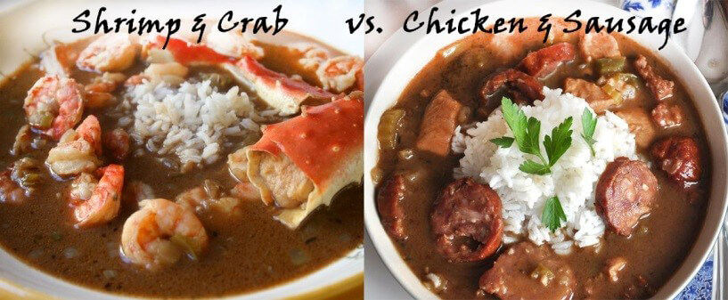 shrimp and gumbo