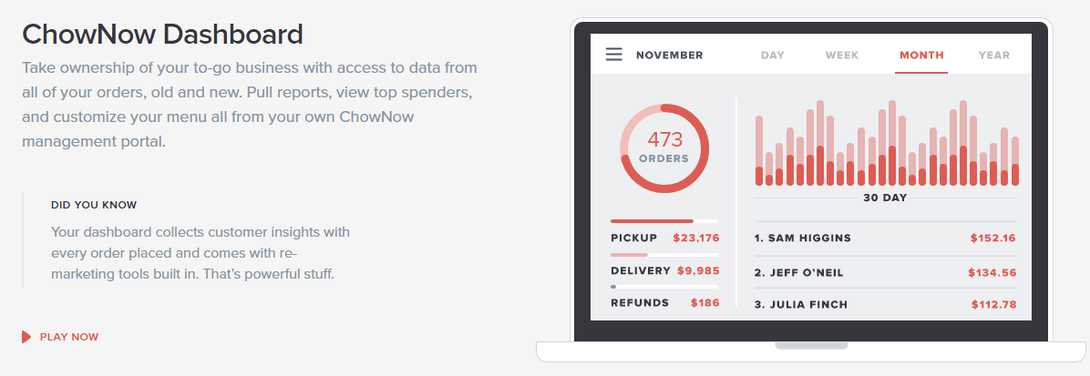 chownow-dashboard-online-ordering