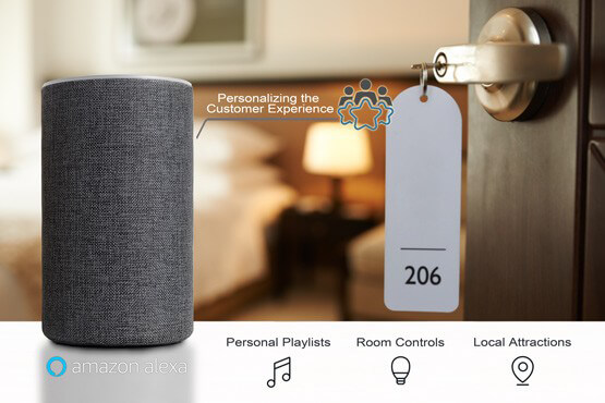 Alexa For Hospitality increases the customer experience